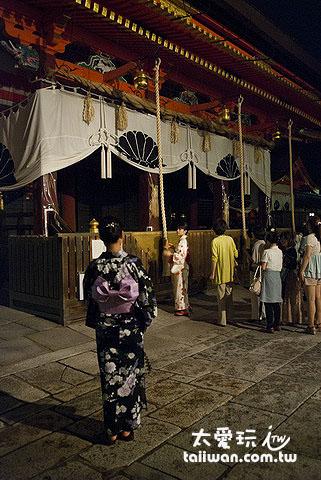 八坂神社祈福