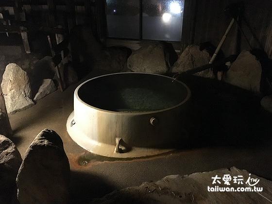 望槍の釜湯