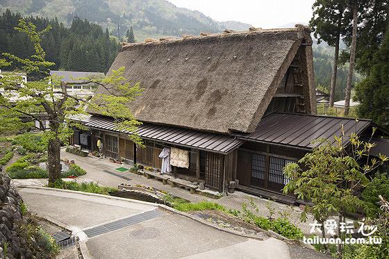 大田屋就是傳統合掌造リ民宿