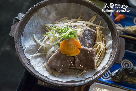 飛騨牛陶板焼好吃!