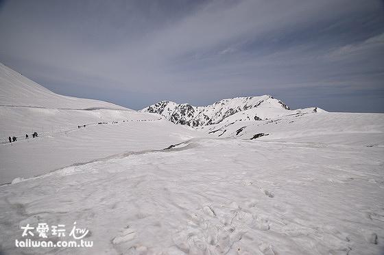 黑部立山雪景