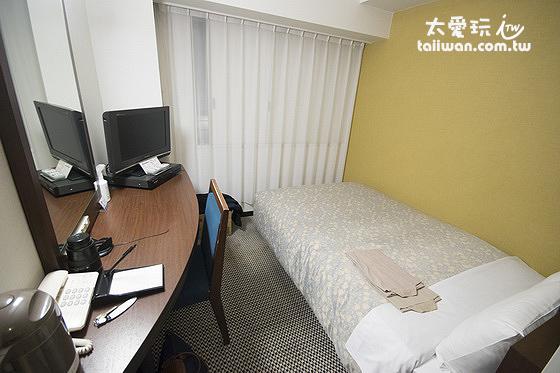 高岡曼藤伊可瑪酒店雙人房12平方公尺/3.63坪