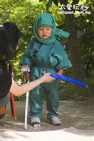 忍者要從小訓練起
