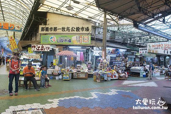 沖繩必訪的海鮮市場「那霸市第一牧志公設市場」