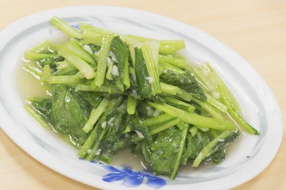 炒青菜味道就跟台灣一樣