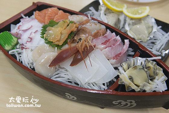 生魚片是一定要吃的