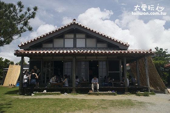 花人逢的日式古屋建築也是非常有特色