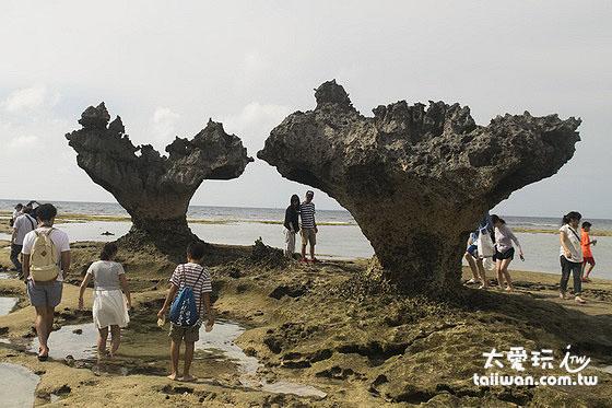 古宇利島心型岩