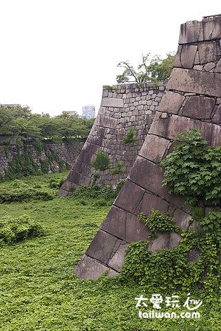 大阪城城牆