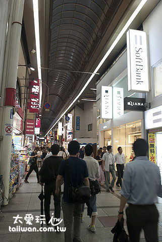 心斋桥商店街