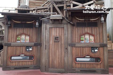 看不出來這是飲料販賣機吧?