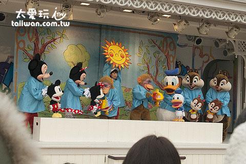 迪士尼剧场表演