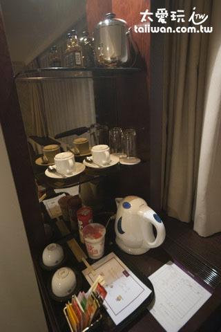 银座水星/美居酒店简单的泡茶设备