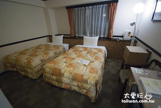 东横Inn双床房