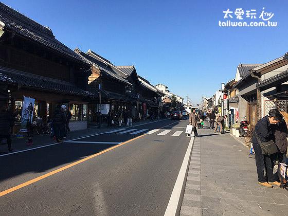 拥有许多江户时代风格建筑的特色小镇 - 川越