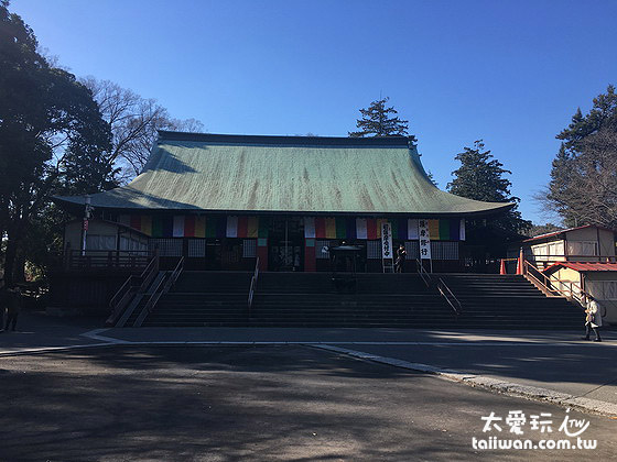 喜多院以前是天台宗关东地区的总山