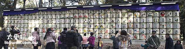 來自日本全國各地的進貢清酒