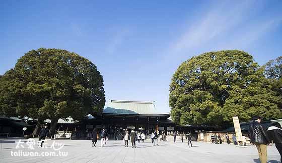 明治神宫神殿