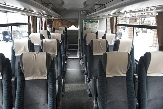 平和交通成田机场巴士内部