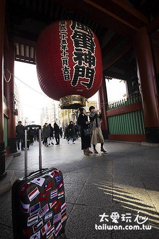 想到雷門就想到東京