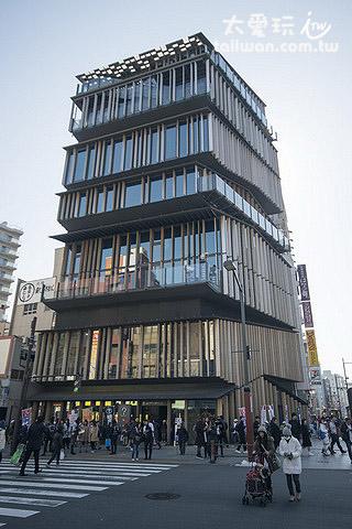 造型特殊的浅草文化观光中心