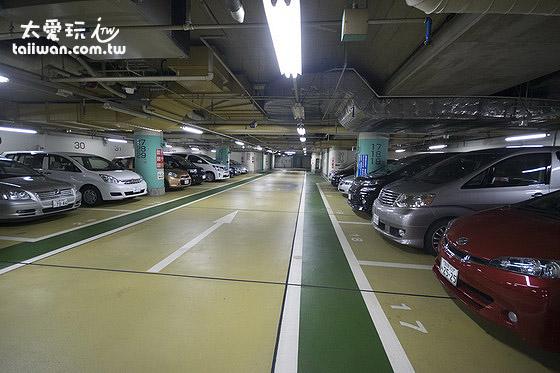 雷門地下停車場