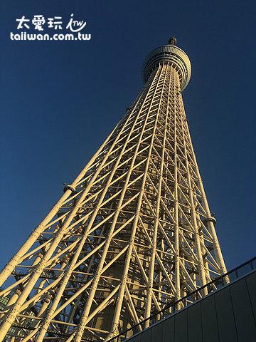 東京最新的地標 – 晴空塔