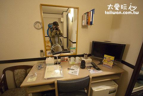 東橫Inn西葛西酒店房間設備樸實