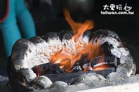 炭火煮出來更有味道