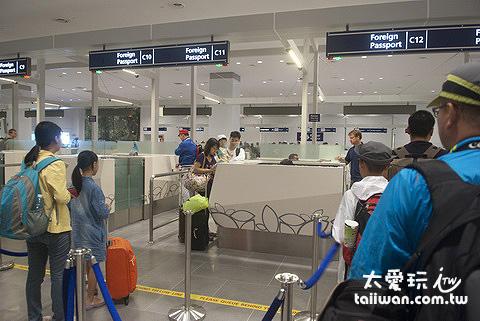吉隆坡廉價機場入境海關