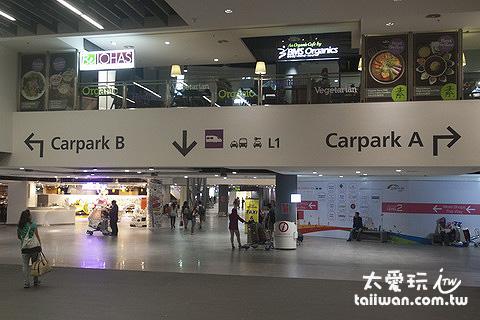 吉隆坡廉價機場入境大廳