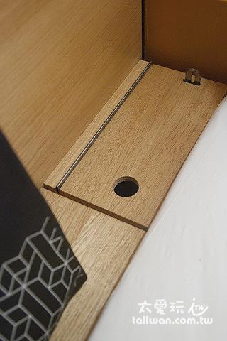 膠囊房間的收納盒