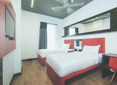 KLIA 2 Tune Hotel雙床房