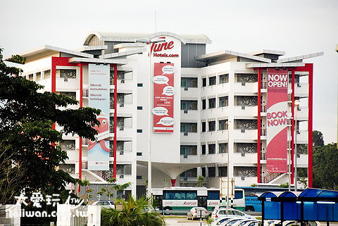 KLIA-LCCT Tune Hotel 吉隆坡機場過境旅館
