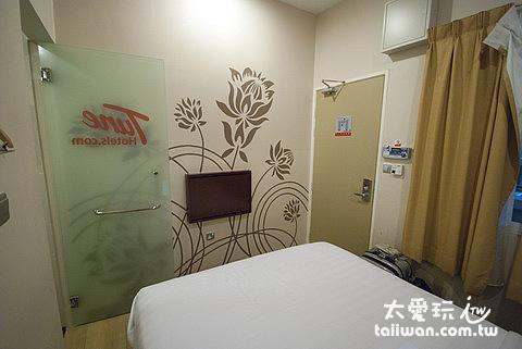 KLIA-LCCT Tune Hotel房間空間狹小但乾淨