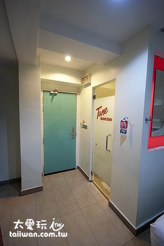 吉隆坡市區Tune Hotel房間