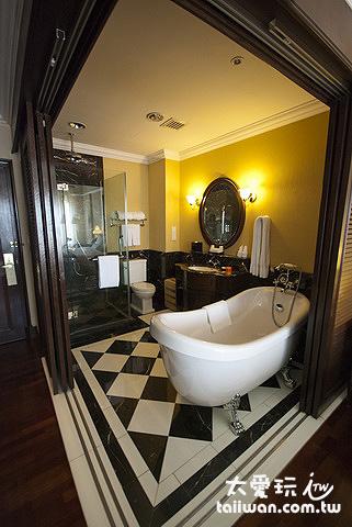 大華酒店The Majestic Malacca客房浴室