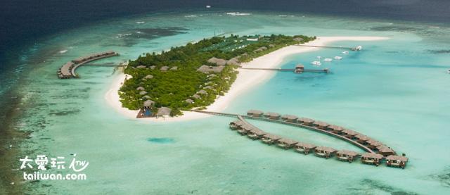 馬爾地夫一島一飯店