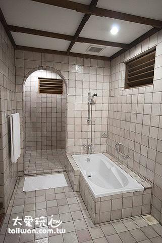 高級客房Deluxe Rooms 浴室