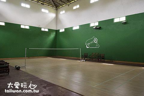 天堂俱樂部羽毛球場