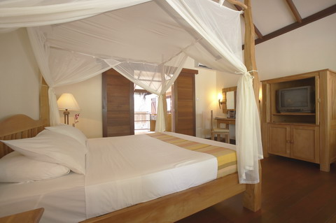 Deluxe Villas房間內部,照片來源Filitheyo Island Resort
