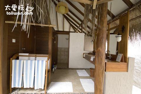 濱海屋Beach Villas 浴室