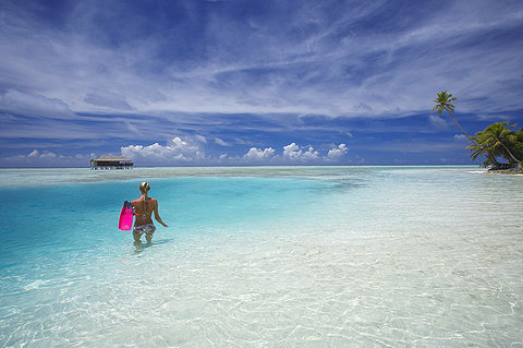 海上蜜月套房Honeymoon Lagoon Suites