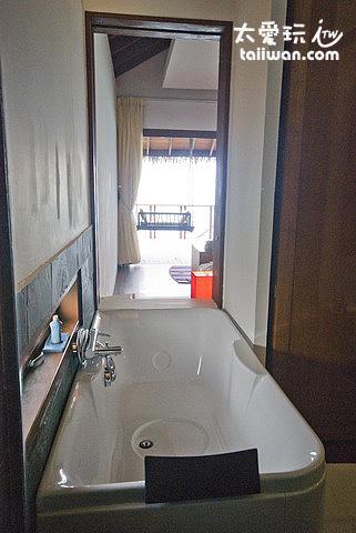 海上屋Water Villas浴缸