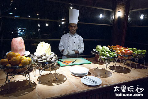 Malafaiy Restaurant主餐廳晚餐