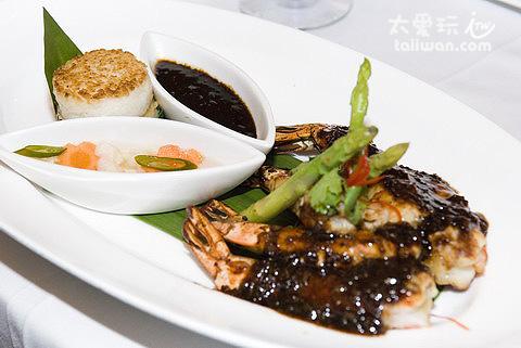 泰國蝦主菜