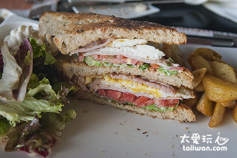 這輩子吃過最棒的三明治