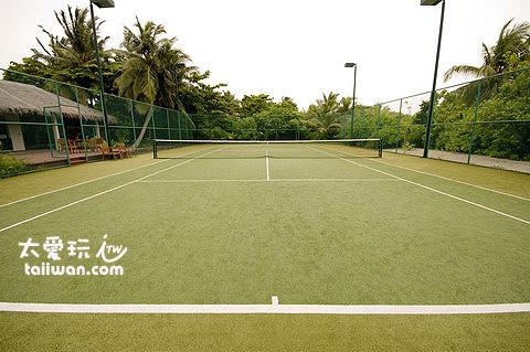 標準網球場