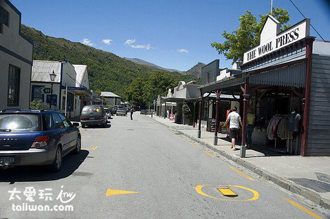 箭鎮(Arrowtown)大街