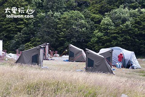 紐西蘭郊外露營區